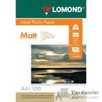 Фотобумага LOMOND Photo Quality, матовая, 1-сторонняя, А4, 120 г., 1 лист