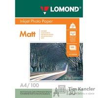 Фотобумага LOMOND Photo Quality, матовая, 2-сторонняя, А4, 130 г., 1 лист