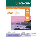 Фотобумага LOMOND Photo Quality, матовая, 2-сторонняя, А4, 170 г., 1 лист