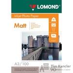 Фотобумага LOMOND Photo Quality, матовая, 1-сторонняя, А3, 90 г., 1 лист