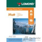 Фотобумага LOMOND Photo Quality, матовая, 1-сторонняя, А4, 180 г., 1 лист