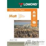 Фотобумага LOMOND Photo Quality, матовая, 2-сторонняя, А4, 190 г., 1 лист