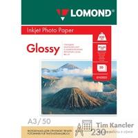 Фотобумага LOMOND Glossy, глянцевая, 1-сторонняя, A3, 230 г., 1 лист