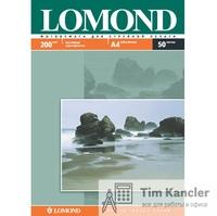 Фотобумага LOMOND Photo Quality, матовая, 2-сторонняя, А4, 200 г., 1 лист
