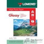 Фотобумага LOMOND Glossy, глянцевая, 1-сторонняя, A4, 140 г., 1 лист