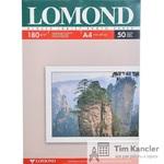 Фотобумага LOMOND Photo Paper, глянцевая, 2-сторонняя, А4, 180 г., 1 лист