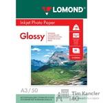 Фотобумага LOMOND Glossy, глянцевая, 1-сторонняя, A3, 140 г., 1 лист