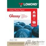 Фотобумага LOMOND Glossy, глянцевая, 1-сторонняя, A4, 170 г., 1 лист