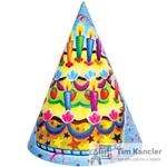 Колпачок карнавальный Праздничный торт