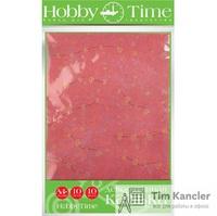 Калька декоративная HOBBY TIME Сердечки, А4, 10 цветов, 10 листов