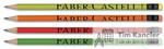 Карандаш чернографитовый FABER-CASTELL Style c ластиком, ассорти