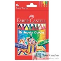 Мелки восковые FABER-CASTELL Клоун, 16 цветов, 75 мм