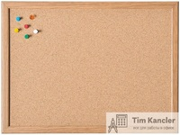 Доска пробковая MAGNETOPLAN в деревянной раме, 40x60 см
