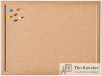 Доска пробковая MAGNETOPLAN в деревянной раме, 60x80 см