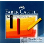 Пастель сухая FABER-CASTELL Studio Quality, 24 цвета