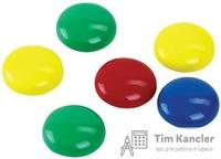 Maгнит ATTACHE для доски, цветной, 3 см, 1 шт.