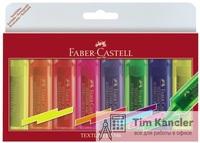 Набор текстовыделителей FABER-CASTELL флюоресцентных, 8 штук