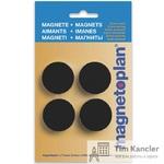 Мaгнит MAGNETOPLAN Discofix Magnum, черный или серый, 34x13 мм, 1 шт.
