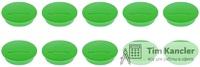 Мaгнит MAGNETOPLAN Discofix Junior, зеленый, 34x9 мм, 1 шт.