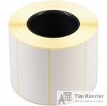 Термоэтикетки белые, 58x30 мм, 750 шт./рул.