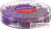 Набор офисный BRUNNEN Colour Code (cкрепки, кнопки, резинки, зажимы)