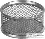 Диспенсер для скрепок AXENT, металлический, круглый