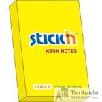 Бумага с липким слоем HOPAX STICKN неоновая, 100 листов