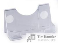 Диспенсер для визиток DURABLE настольный, пластиковый, на 50 штук