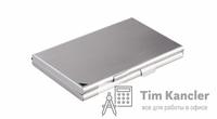Диспенсер для визиток DURABLE двойной, металлический, на 20 штук