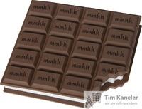 Блок для записи BRUNNEN Шоколад, 10x9 см, 100 листов