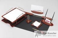 Настольный набор ERICH KRAUSE, 7 предметов и 2 ручки, подложка