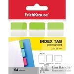 Ярлычки-закладки пластиковые ERICH KRAUSE, цветные, 22х25 мм, 54 листа