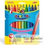 Фломастеры CARIOCA Joy, 12 цветов