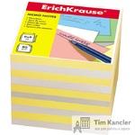 Блок для записей ERICH KRAUSE, не склееный, 90 х 90 х 90 мм