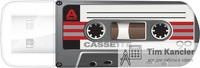 Флэш-накопитель VERBATIM Mini Casette Edition, USB 2.0, 16 Gb