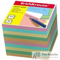 Блок для записей ERICH KRAUSE, не склееный, ассорти, 90 х 90 х 90 мм