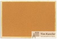 Доска пробковая ATTACHE,  деревянная рама, 60x90 см
