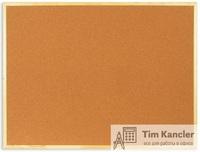 Доска пробковая ATTACHE, деревянная рамка, 90x120 см