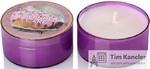 Ароматизированная свеча Lavender cake, в гильзе, 55 мм