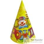 Колпачок карнавальный С Днем рождения / русская версия