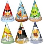 Колпачок карнавальный Angry birds, ассорти