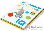 Бумага цветная IQ Intensive, набор из 5 цветов (по 50 листов)