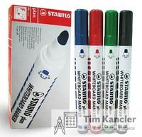 Набор маркеров STABILO plan 64, с круглым наконечником, 4 цвета