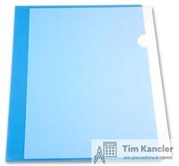 Папка-уголок прозрачная, цветная, А4, 0,18 мм