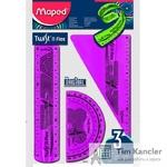 Набор чертежный MAPED Twistn Flex, 3 предмета