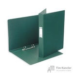 Папка на 2-х кольцах Bantex картонная/пластиковая 35 мм темно-зеленая