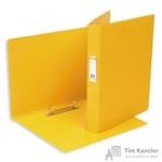 Папка на 2-х кольцах Bantex картонная/пластиковая 35 мм желтая