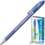 Ручка шариковая масляная автоматическая Paper Mate Flex Grip синяя (толщина линии 0.8 мм)