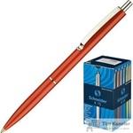 Ручка шариковая автоматическая Schneider K15 синяя (красный корпус, толщина линии 0.5 мм)