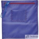 Папка на молнии Attache Confidence с отверстием для опломбирования А5+ фиолетовая 1.2 мм